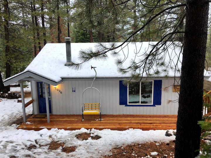 Secluded Cabin, Minutes From Skiing & The Lake