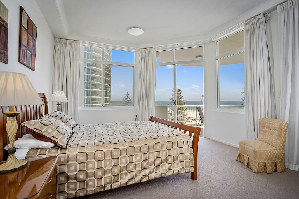 Master Bedroom with views