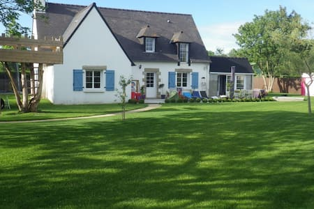 Nice family house near beaches, quiet. - Lancieux - Casa