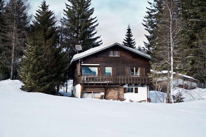 Chalet Im Spickel, (Amden), FA031, Ferienhaus / 2 Schlafzimmer / max. 6 Personen