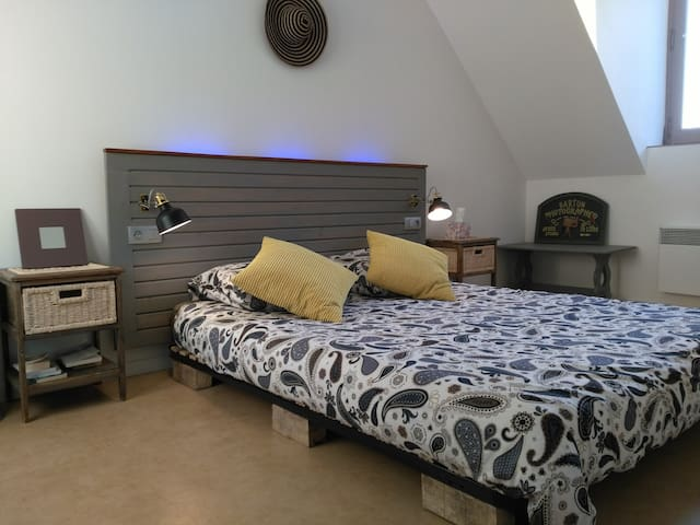Jolie chambre confort & cosy avec vue sur Chinon