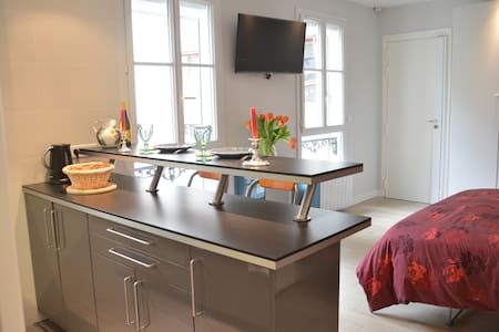 Lovely cosy studio Neuilly Sablons/Porte Maillot - Neuilly-sur-Seine - Apartment