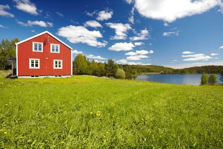 Beautiful house by Swedens largest Nature Reserve