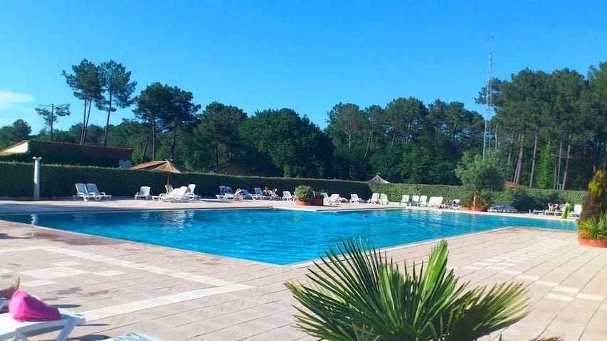 Chalet bassin d Arcachon 4/6 pers
