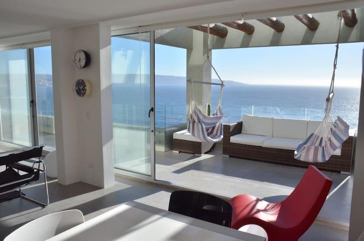 Duplex Reñaca with Fabulous views