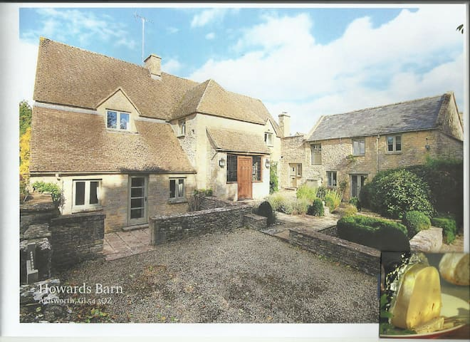 Beautiful Cotswold rooms in self contained annex. - Aldsworth - Dom