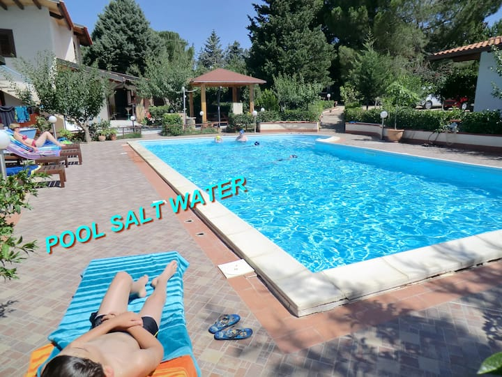 Villa Sea Sicily, Pool salt water, close beaches
