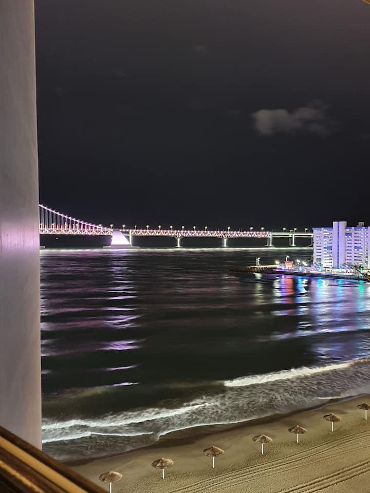 """""""RAON"""" HOUSE 2#신축감성 룸#해변1초거리#광안비치바로앞#안락한숙소"""