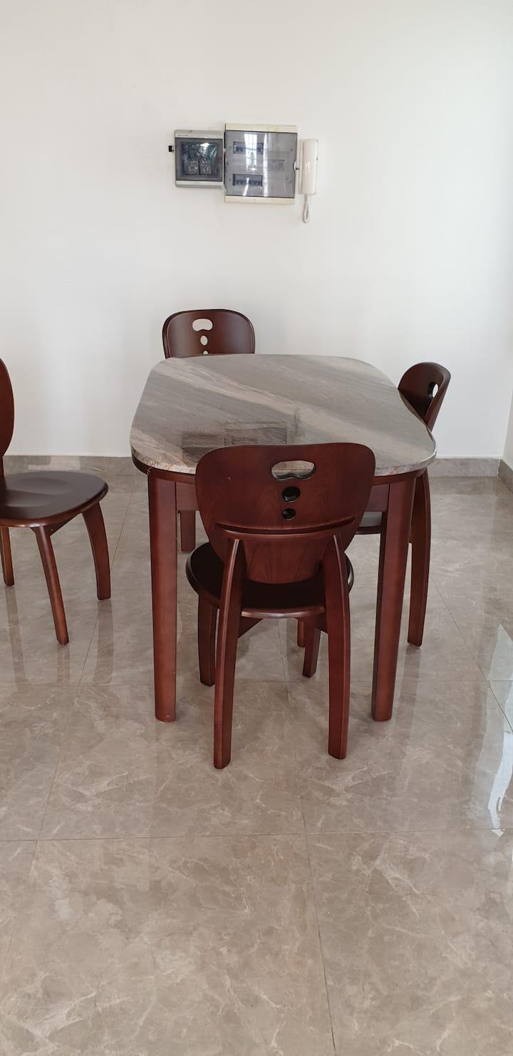 Studio meublé dans un quartier résidentiel