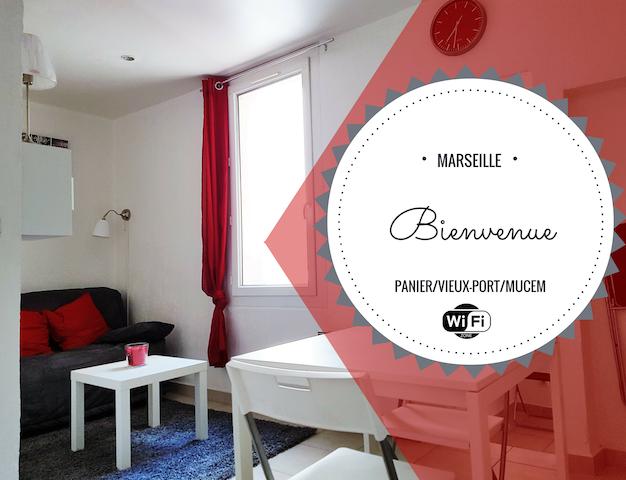 LE PANIER CENTRE HISTORIQUE VIEUX PORT - MUCEM - Marseille