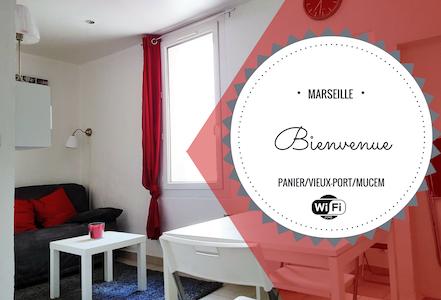 LE PANIER CENTRE HISTORIQUE VIEUX PORT - MUCEM - Marselha - Apartamento