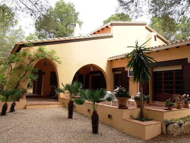 Casa Simone, con piscina-calefacción y WIFI - L'Ametlla de Mar - House
