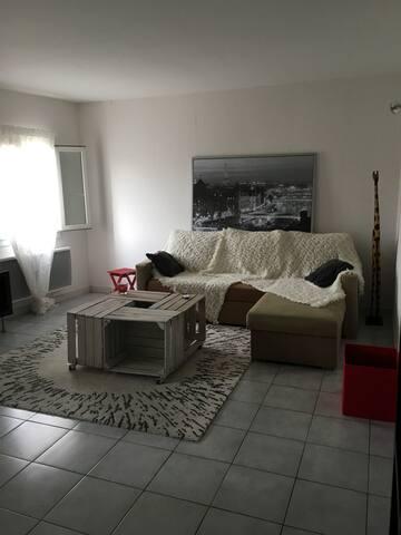 Appartement F2 villeneuve les maguelone - Villeneuve-lès-Maguelone - Apartmen