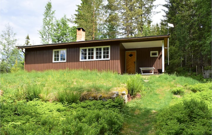 Awesome home in Hurdal with 2 Bedrooms