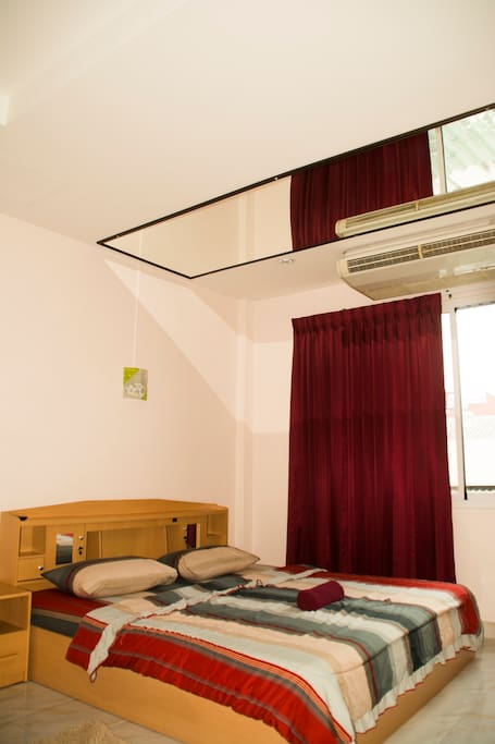All rooms A/C