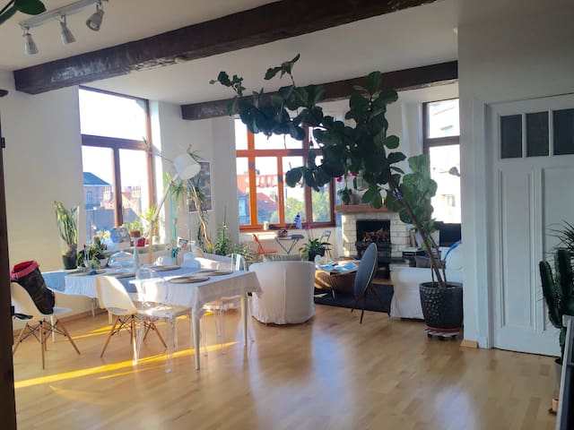 cosy and nice flat next to bxl city - Jette - Apartamento