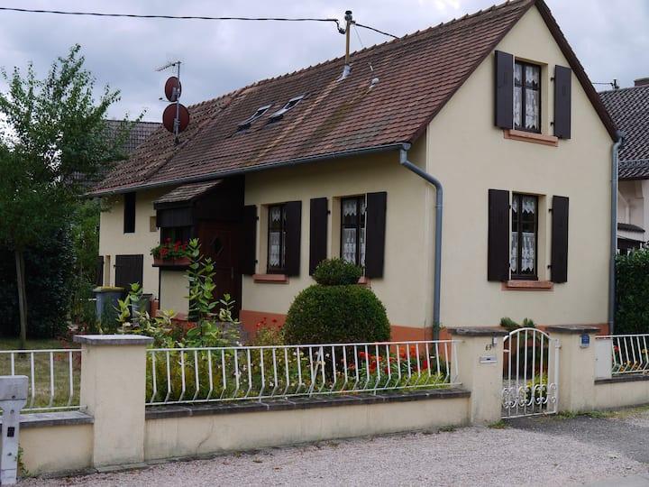 Petite maisonnette à selestat - Centre Alsace