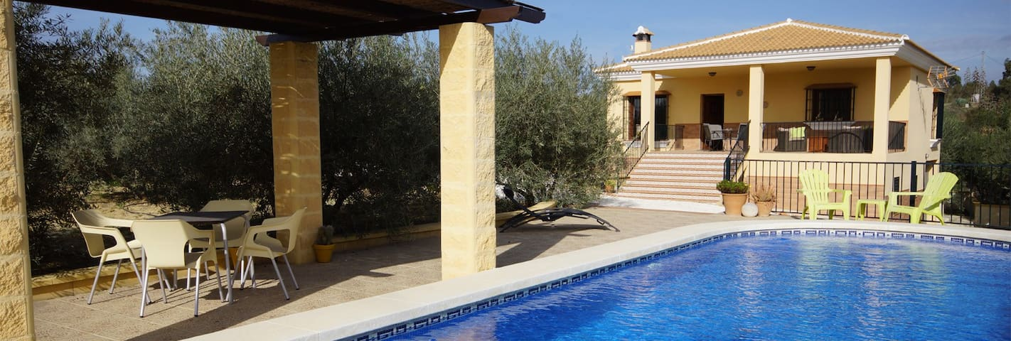 Luxury holiday home near Málaga (Costa del Sol) - Alhaurín el Grande - House