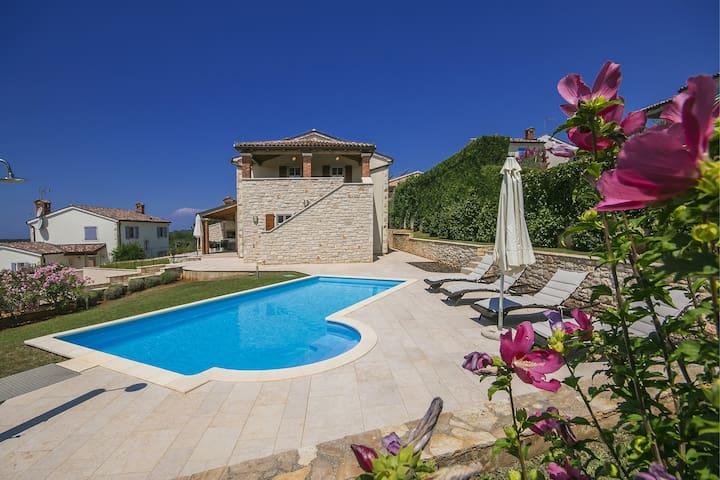 Comfortable Villa Mayla with Pool near Porec - Fuškulin - Villa