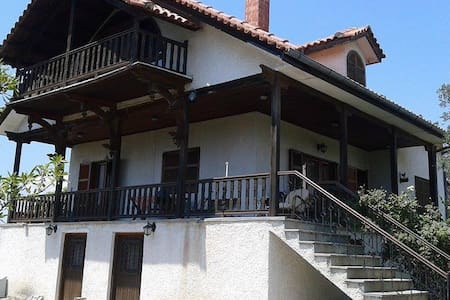 convinient villa,close to thessaloniki and airport - Epanomi - Villa