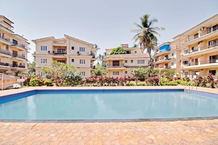 OYO Pool-View 1BR Home in Goa - Discount Alert ⚠