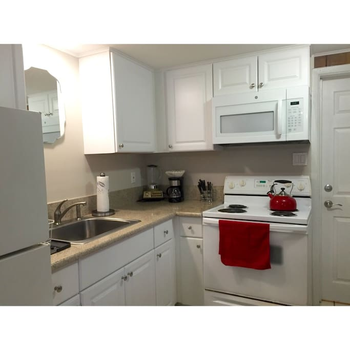 NEW Furnished Kitchen with Granite Counter top