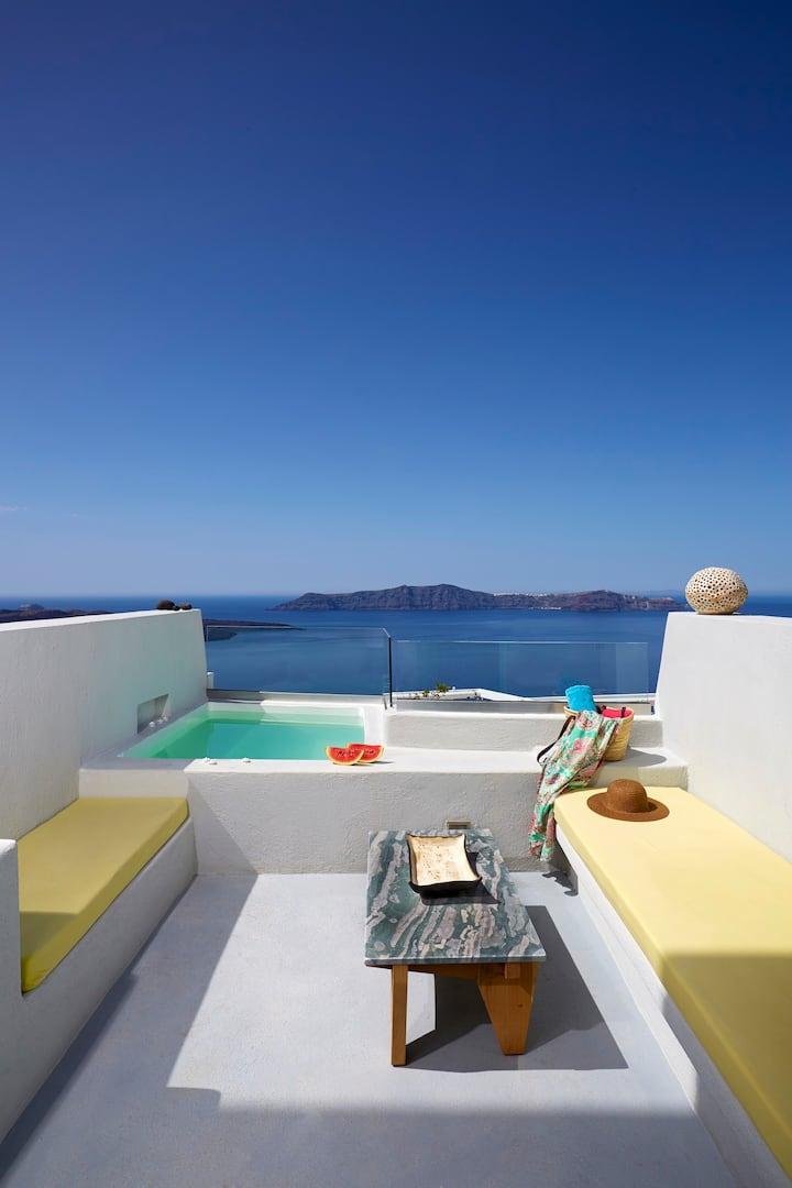 Superior Suite with Caldera View & Private Hot Tub