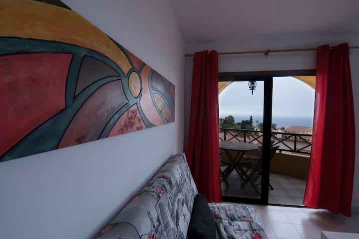 Apartamento luminoso con hermosas vistas - Los Realejos - Lyxvåning