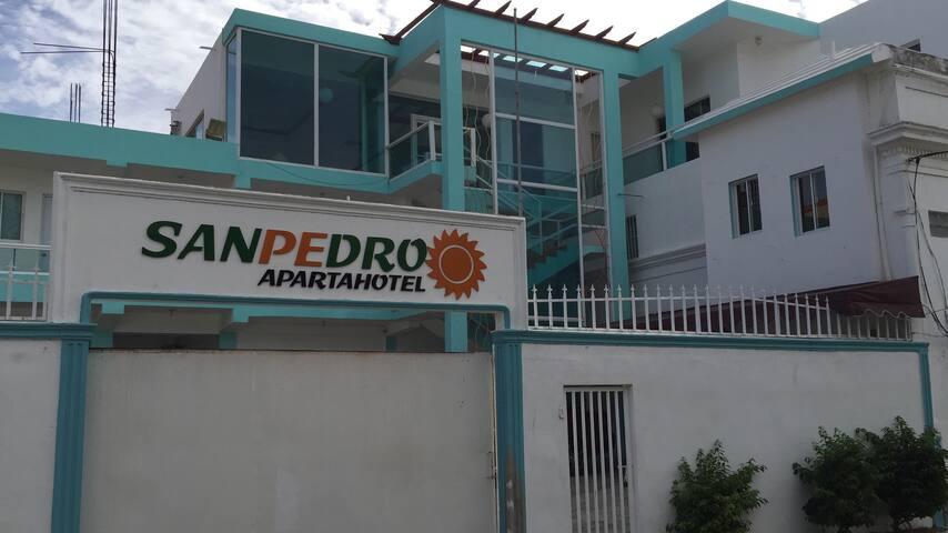 Apartahotel San Pedro.