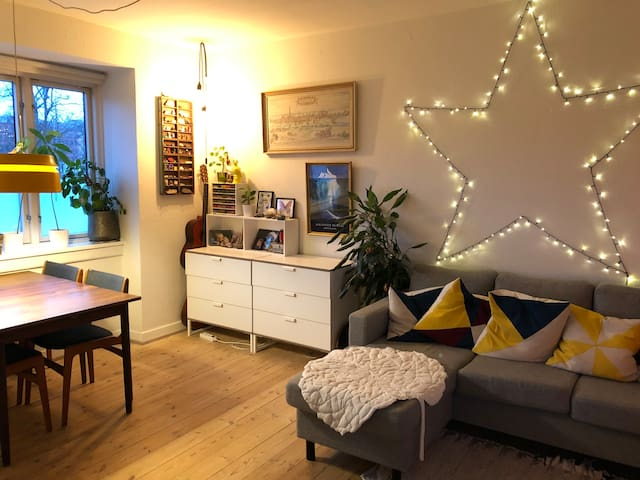 great apartment in vibrant and cosy area in CPH