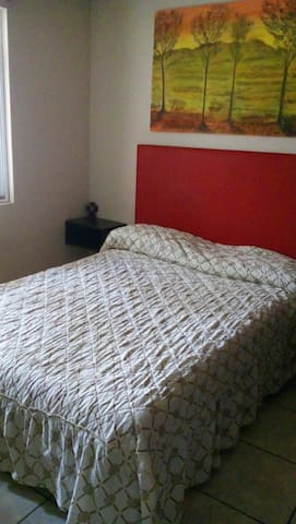 Habitación comoda para descansar. - San Mateo Atenco - Hus