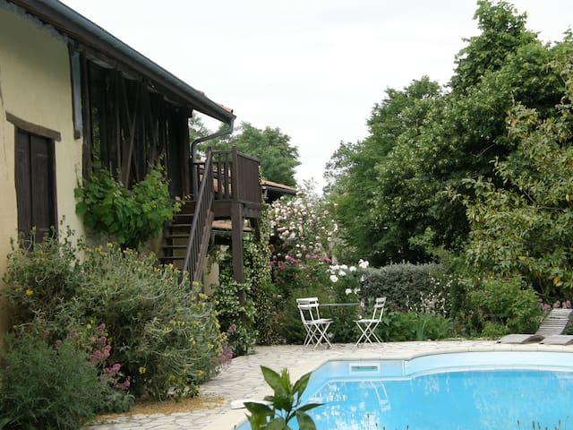 Gîte Au grand Moulié - Blousson-Sérian - Apartment