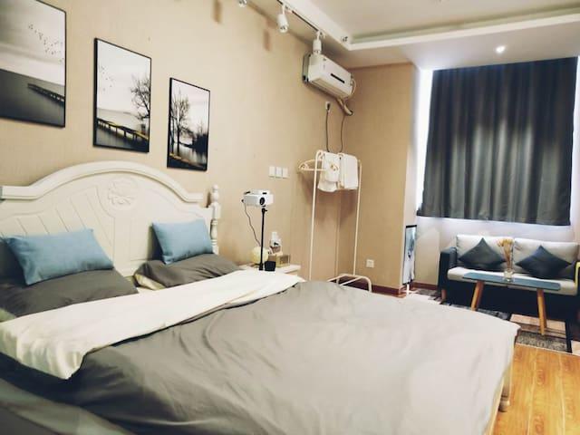 宁阳文化宫北欧落地式公寓,给你一个温馨的家(可月租有优惠)