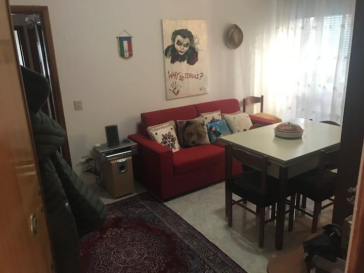 Appartamento sul mare, camera matrimoniale privata