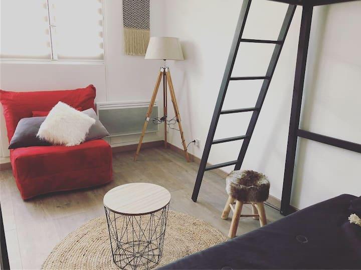 Studio 5 couchages à Auron