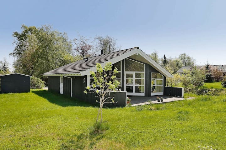 Modern Holiday Home with Sauna in Gilleleje