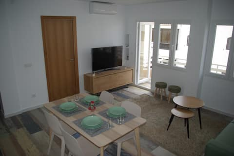 Renovated apartment in the center of Moraira