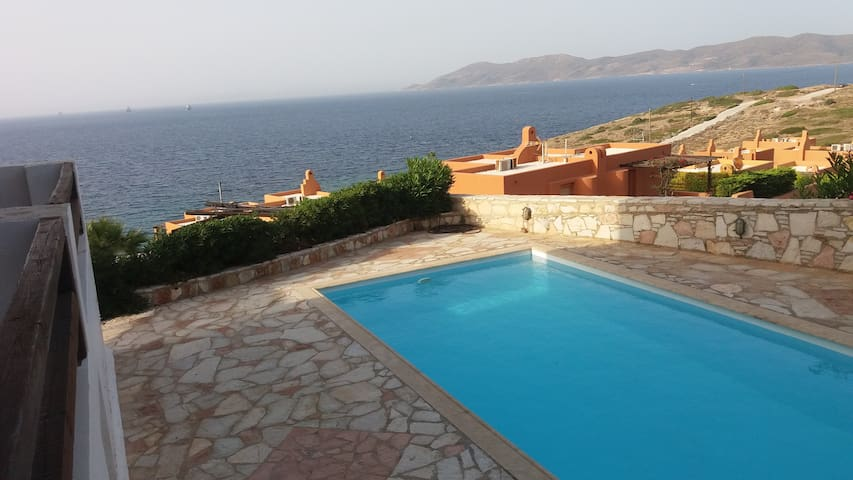 ANNA Villa Sounio , swimming pool , sea view