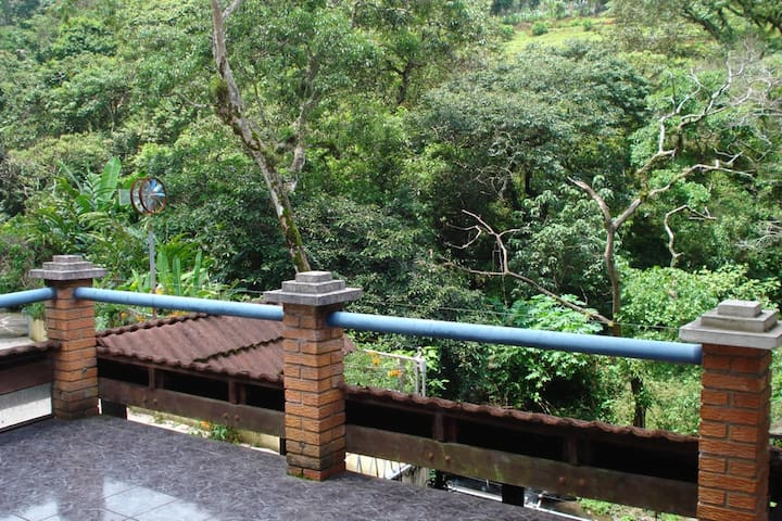 Mountain Forest, River Side&Pool (UpstairsBalcony)