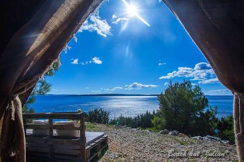 Beach Hut Julian (Seaview) + Free shuttle