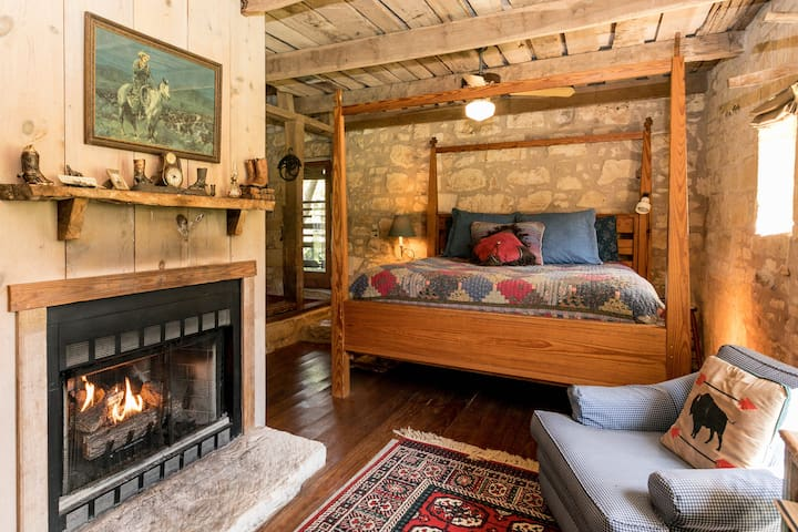 The Barn | Fireplace | Quiet Serenity