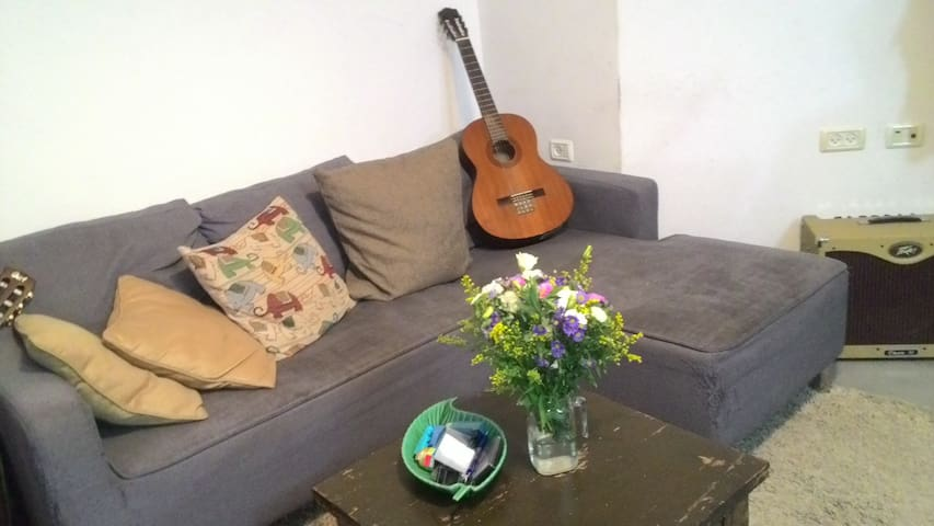 private room, double bed & bathroom - Tel Aviv-Yafo - Flat