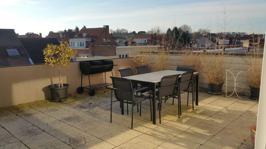 Cosy apartment with huge terrace - Woluwe-Saint-Lambert - Apartment