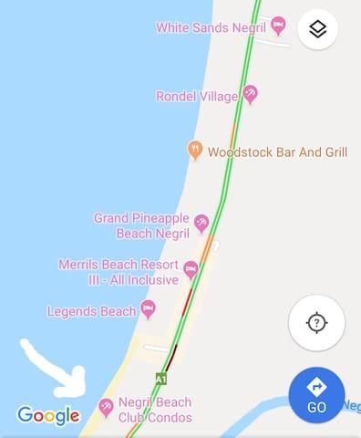 Cozy Condo along Negril's 7 Mile Beach
