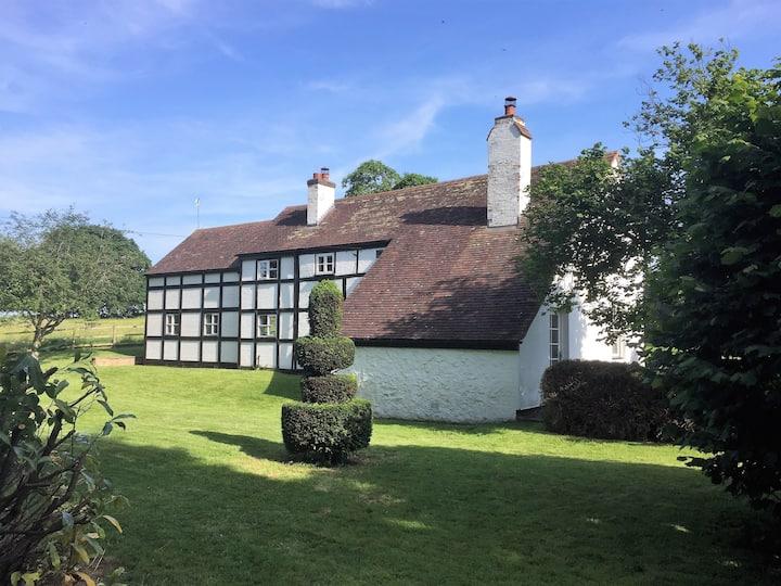 Maison de campagne anglaise idyllique: 5 chambre