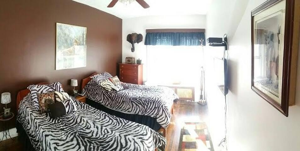African twin room - Уинтроп