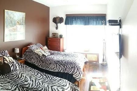 African twin room - Winthrop - Bed & Breakfast