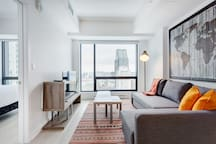 3802 TDC · Luxurious One Bedroom Condo Next to Bell Centre