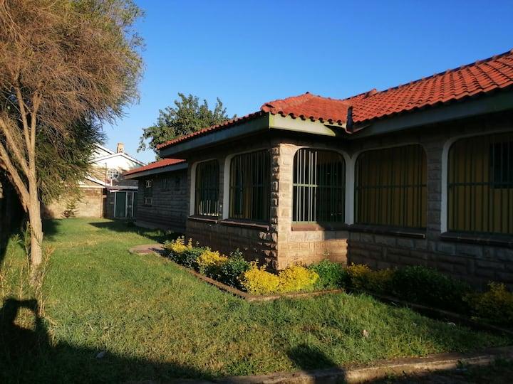 Serene family home on nrb-nkr rd 5km to nakuruCBD