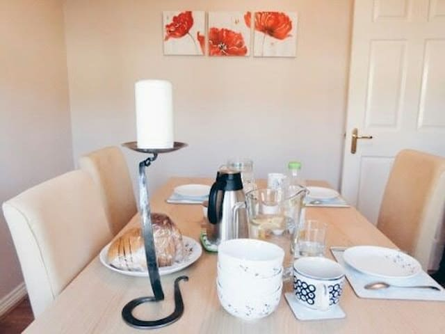 Lovely quiet comfortable single rm - Glasgow - Casa